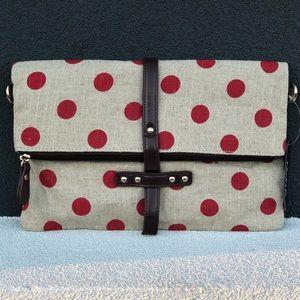 Bags - New Polka Dot Clutch